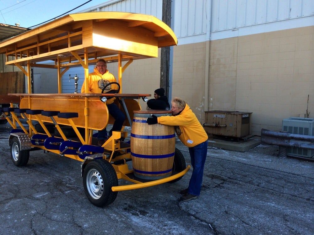 Sunrise Pedal Trolley: 401 Washington Ave, Bay City, MI