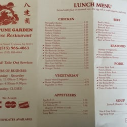 Fortune garden chinese 270 w 1st st grimes ia for Asian cuisine grimes ia