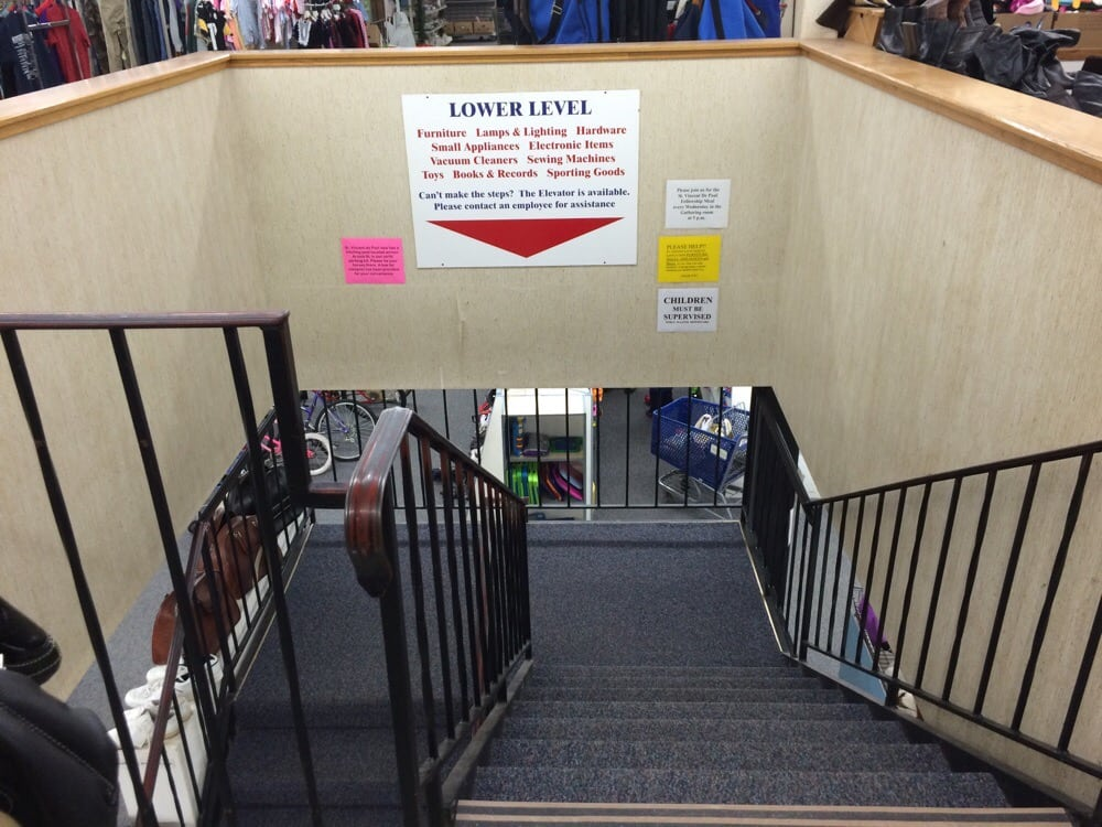 St Vincent Depaul Thrift Store: 169 N Central Ave, Marshfield, WI