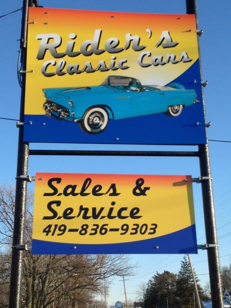 Rider's Classic Cars: 1650 Woodville Rd, Millbury, OH