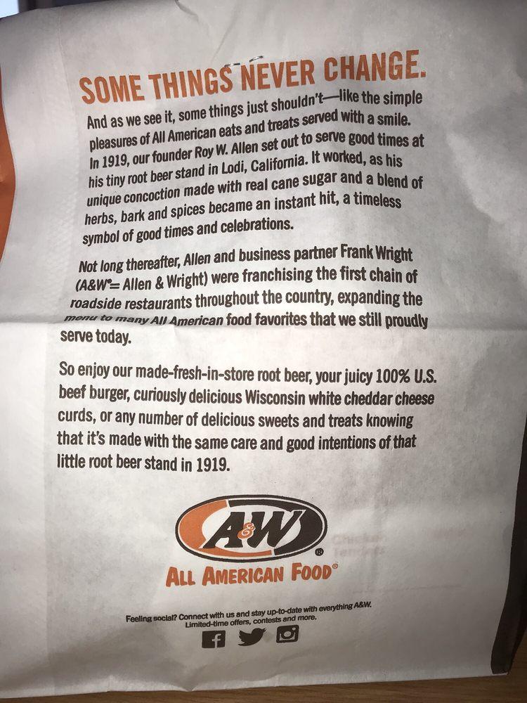 A & W Root Beer Drive In: 908 W Aztec Blvd, Aztec, NM