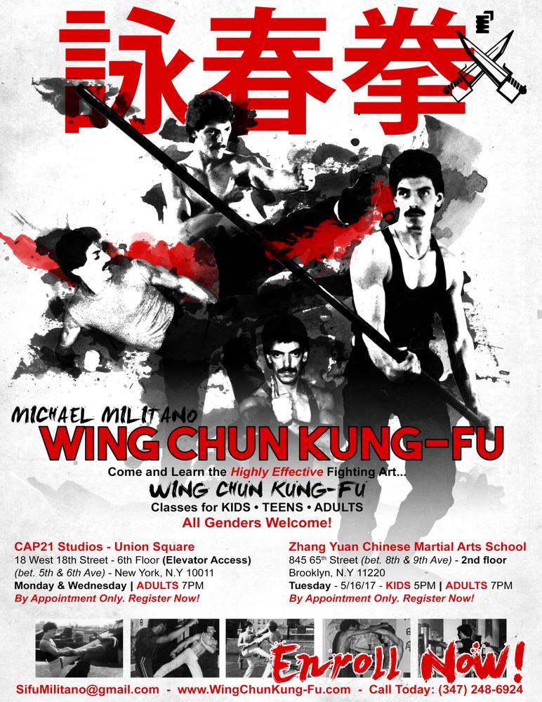 Michael Militano Wing Chun Kung Fu: 70 E 4th St, New York, NY