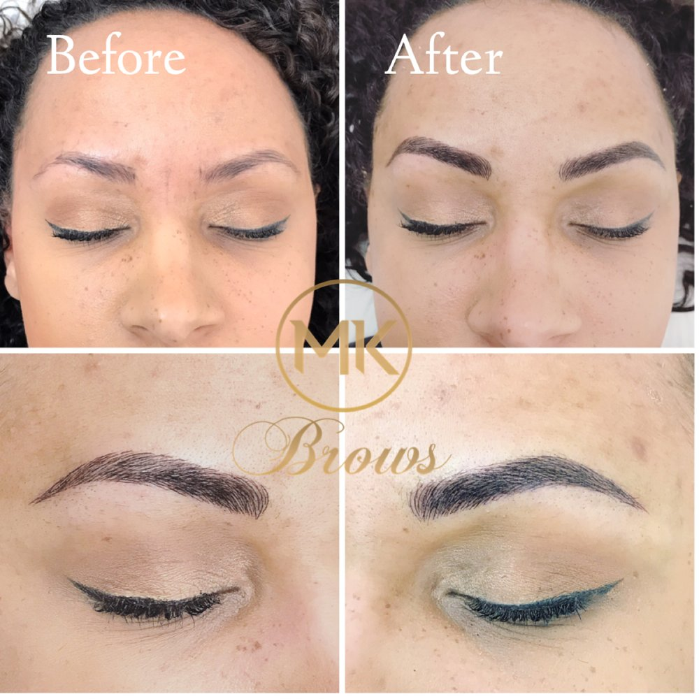 If Your Looking To Get The Perfect Eyebrows Then Call Mk Brows I