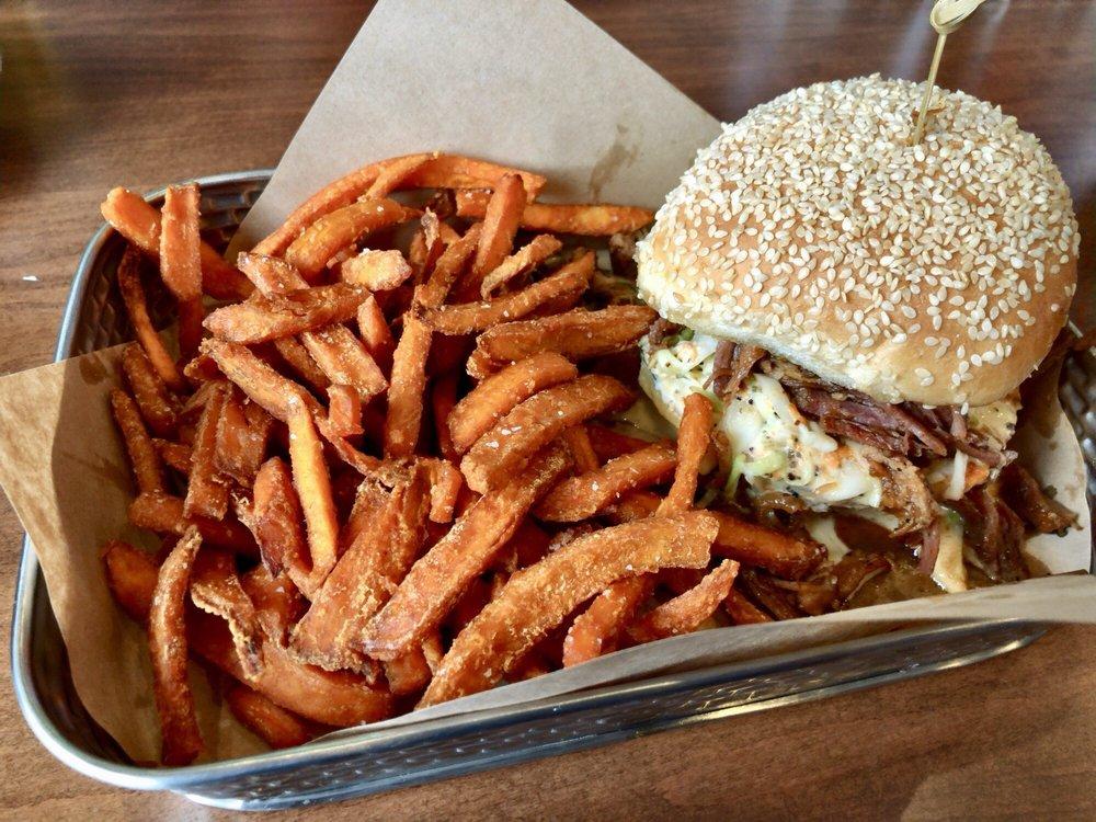 Tap & Burger Belleview Station: 4910 S Newport St, Denver, CO