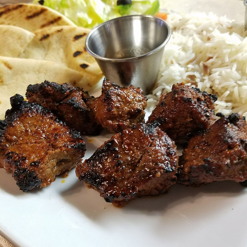 Food from Red Meze Downtown