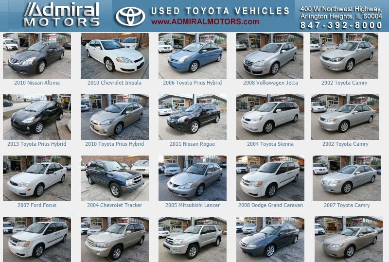 Admiral Motors - 20 Photos & 15 Reviews - Used Car Dealers - 400 W Northwest Hwy, Arlington Heights, IL - Phone Number - Yelp