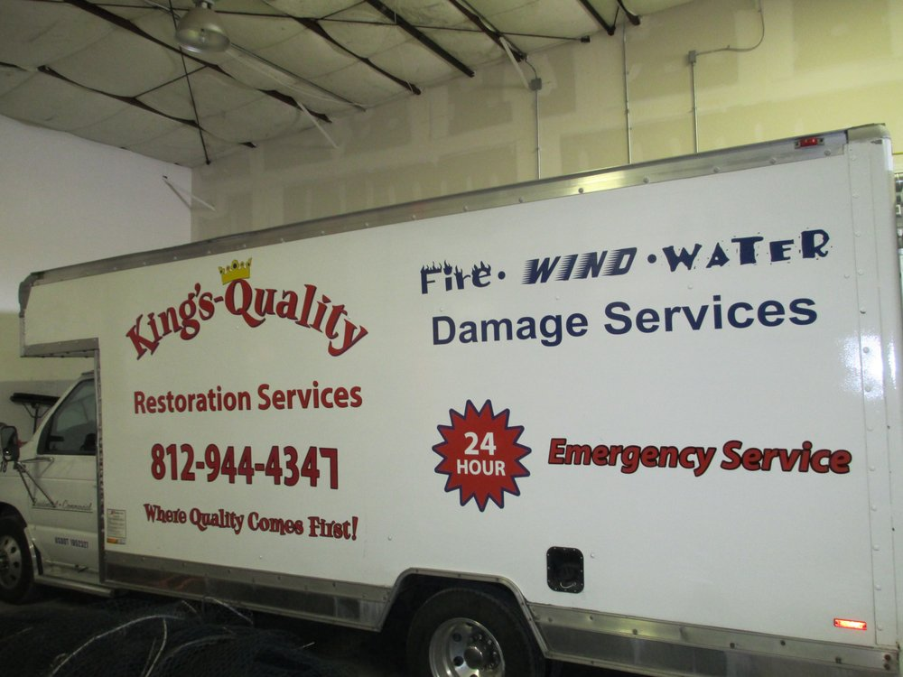 King's Quality Restoration Services: 1818 E Market St, New Albany, IN