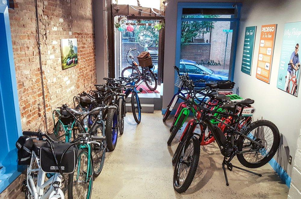 Pedego Electric Bikes Alexandria: 210 N Lee St, Alexandria, VA