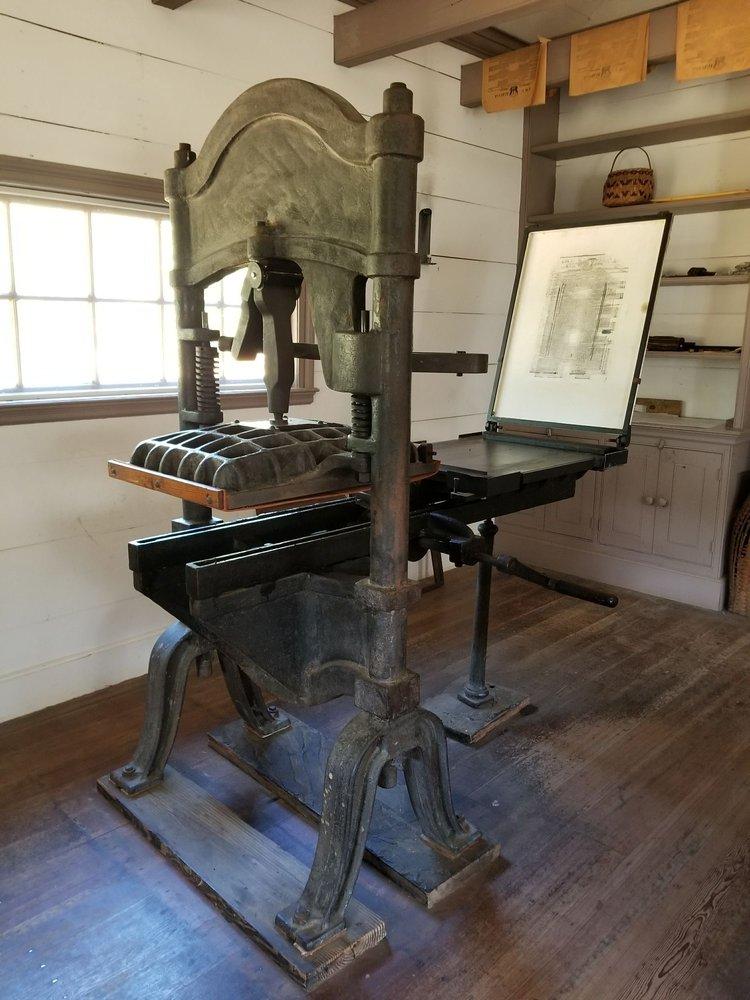 New Echota Historic Site: 1211 Chatsworth Hwy NE, Calhoun, GA
