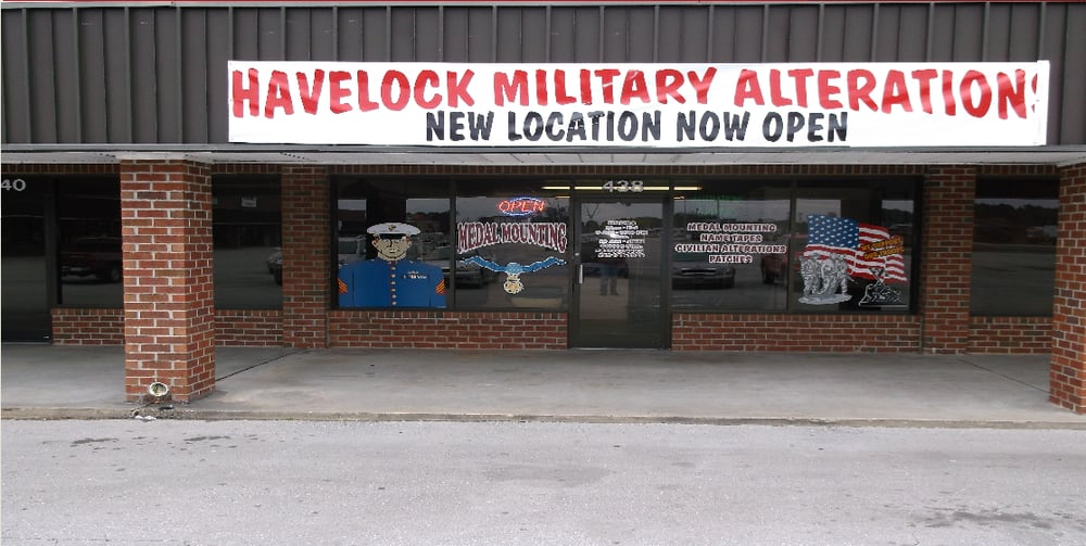 Havelock Military Alteration: 438 Westbrooke Shopping Ctr, Havelock, NC