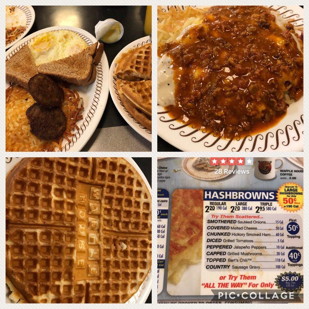 Waffle House: 4525 James S McDonnell Blvd, Berkeley, MO