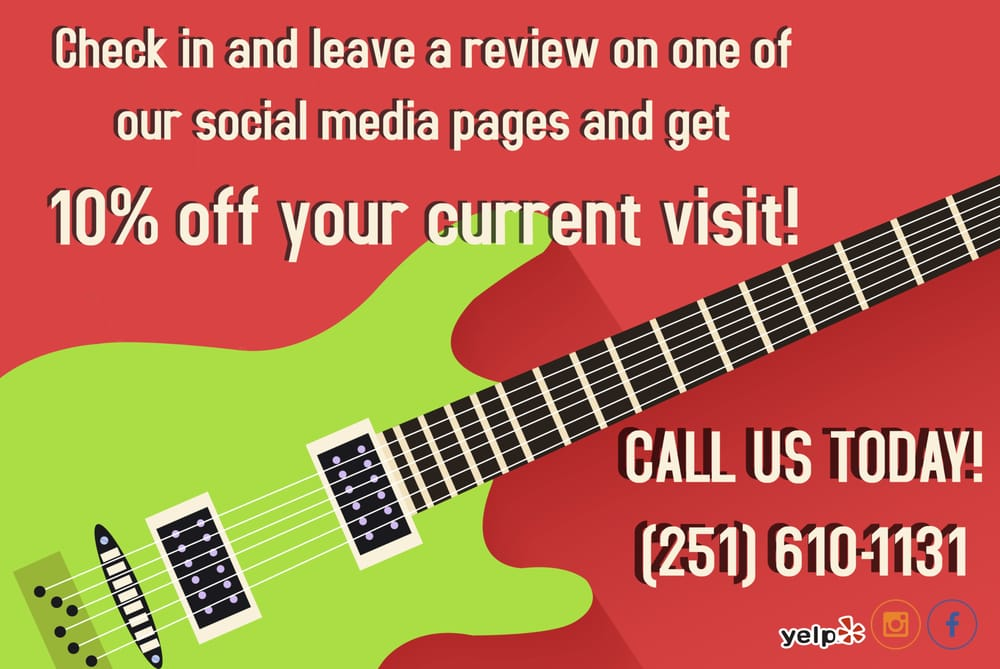 The Guitar Spa of Mobile: 5325 Willis Rd, Theodore, AL