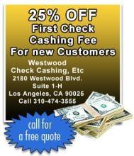 Westwood Check Cashing-Payday Advance & Auto Title Loans
