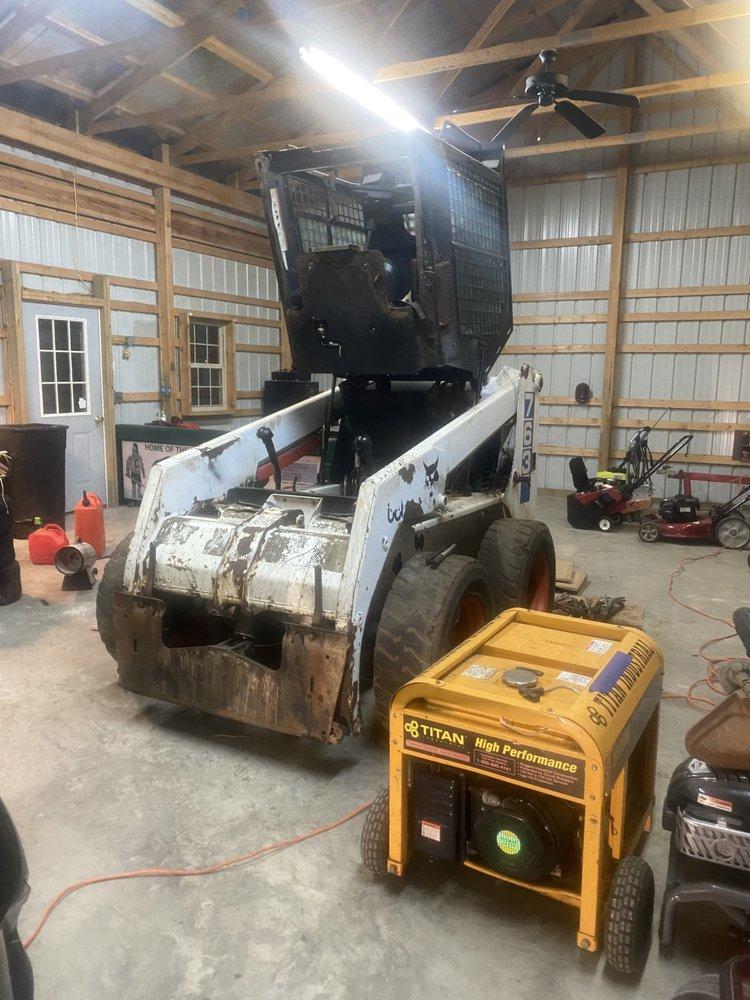 Mower Repair Shop: 1559 Sappington Station Rd, Gambrills, MD