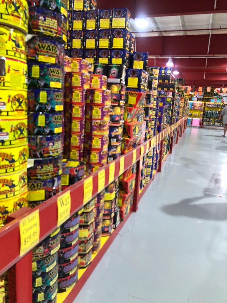 Shelton Fireworks: 570 Tribal Rd, Blacksburg, SC