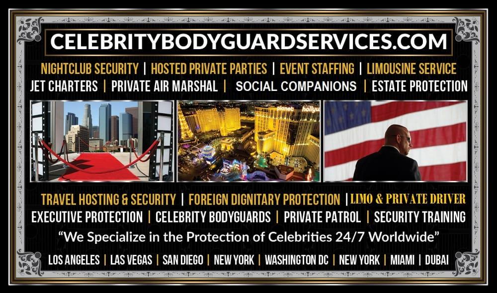 Celebrity VIP Services - 25 Photos - Security Services - 1516 E ...