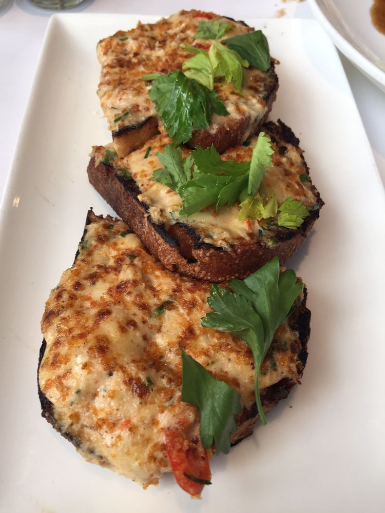 South City Kitchen Buckhead crab toast - yelp