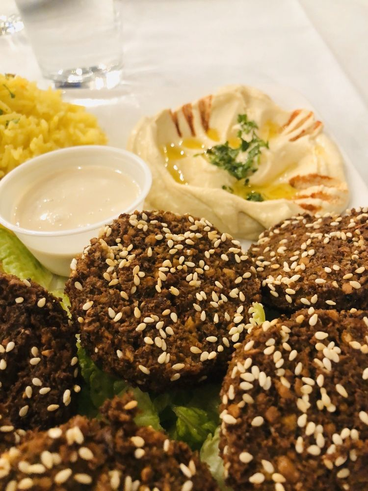 Food from Yahya's Mediterranean Grill & Pastries