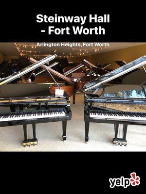 Elegant Steinway Hall fort Worth