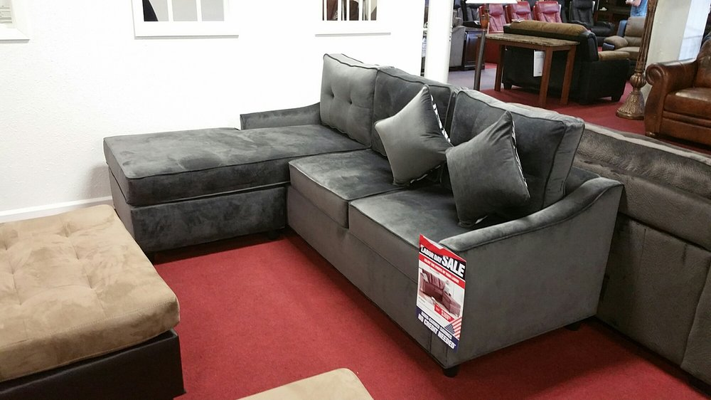 This sectional was on sale during labor day sales weekend for Labor day weekend furniture sales