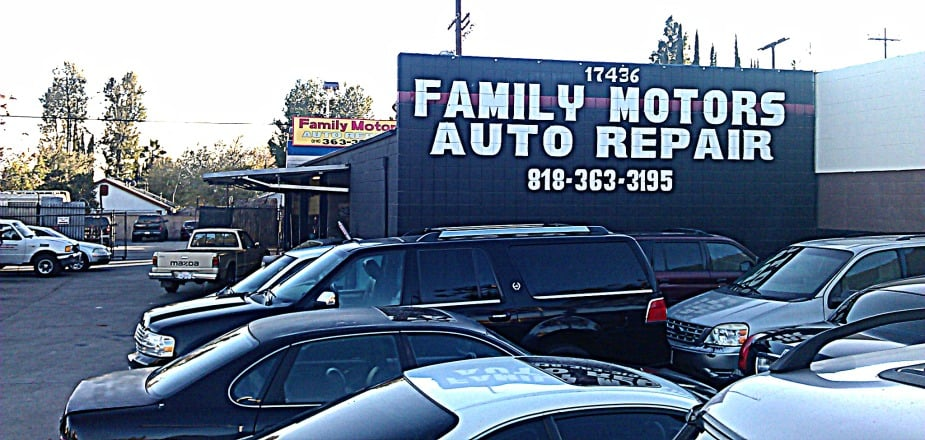 family motors auto repair 17454 chatsworth st