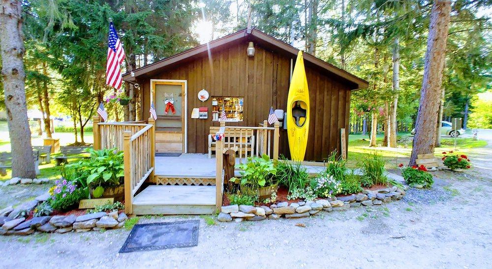 Martin Stream Campground: 1 Martin Stream Rd, Turner, ME