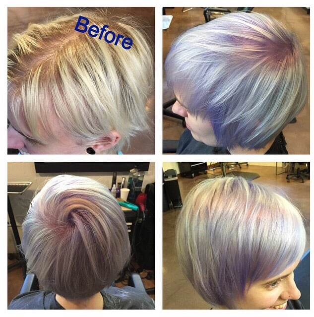 Hair by parker boettcher yelp for 77 salon portland