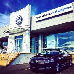 piazza volkswagen  langhorne  reviews car dealers  east lincoln hwy langhorne pa
