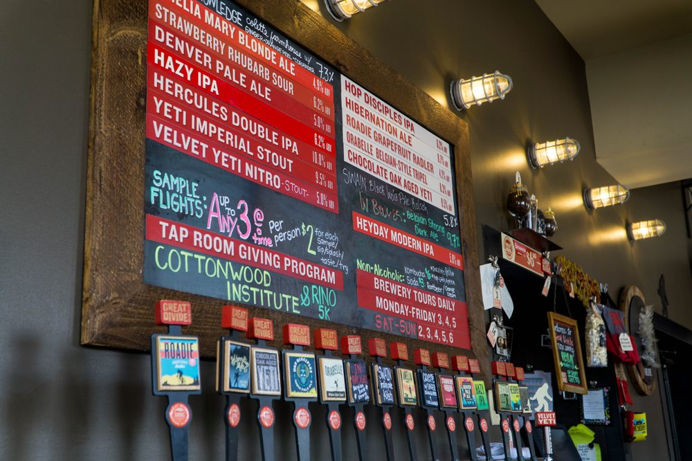 Great Divide Brewing Company: 2201 Arapahoe St, Denver, CO