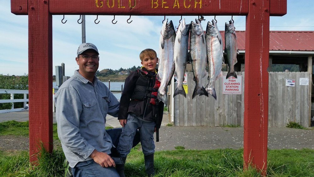 FishChinook: 95706 Jerry's Flat Rd, Gold Beach, OR