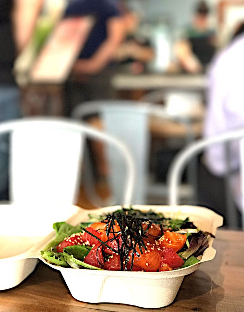 Food from Poke House - Austin