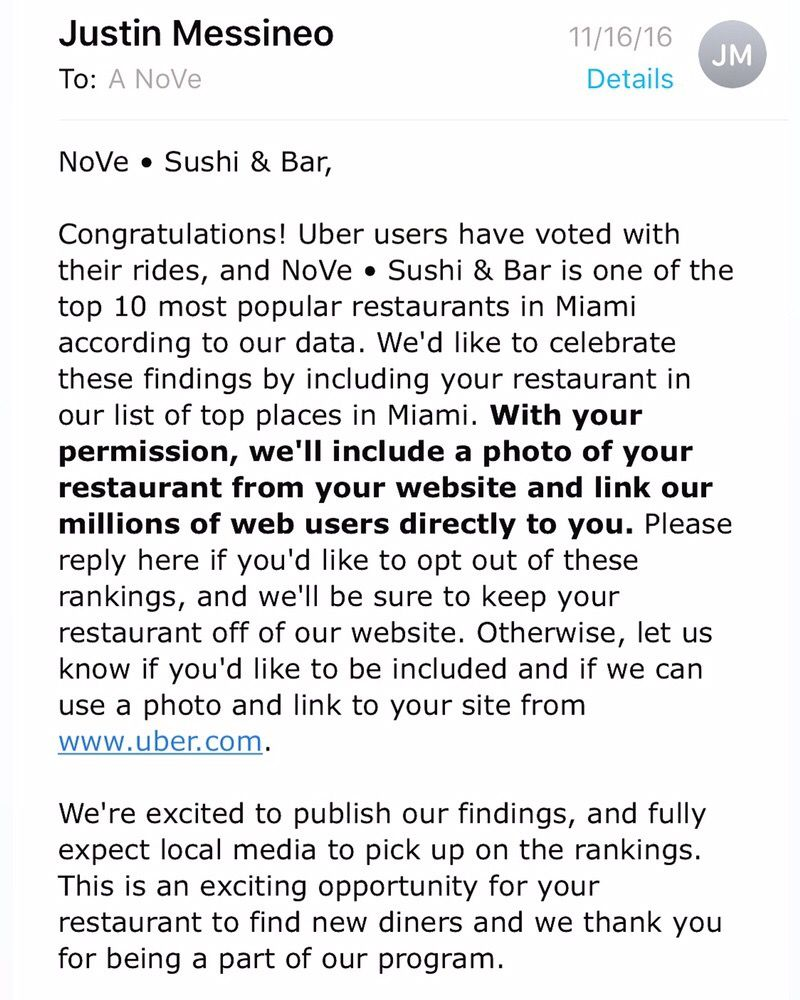 Nove Kitchen And Bar Miami