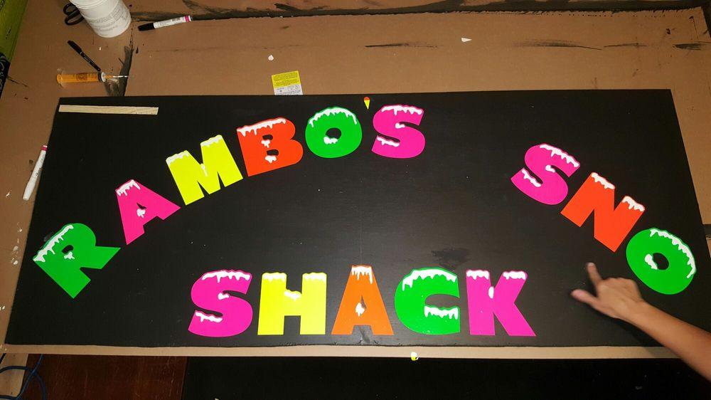 Rambossnoshack sno shack: 102 North Cemetery St, Saint Martinville, LA