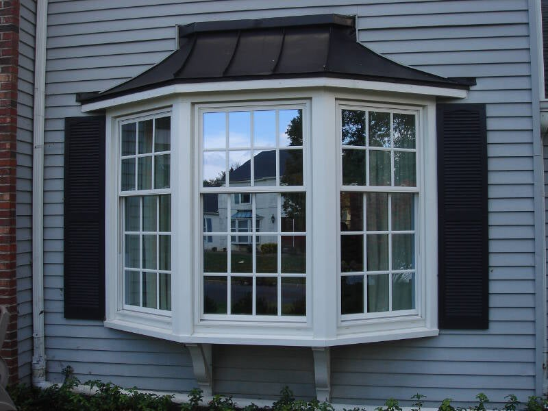 Bay window installation by lawrenceville home improvement for Bay window installation