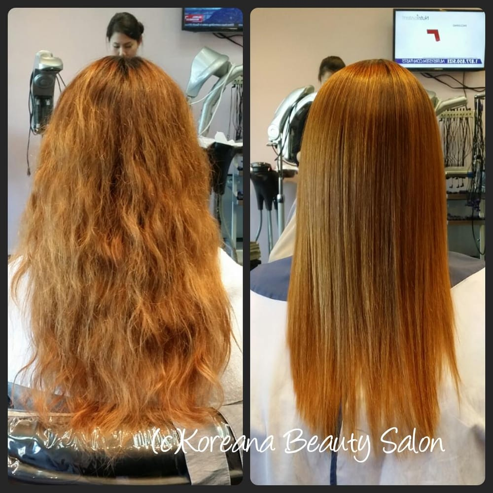 Best japanese straight perm - Photo Of Koreana Beauty Salon Santa Clara Ca United States Japanese Straight