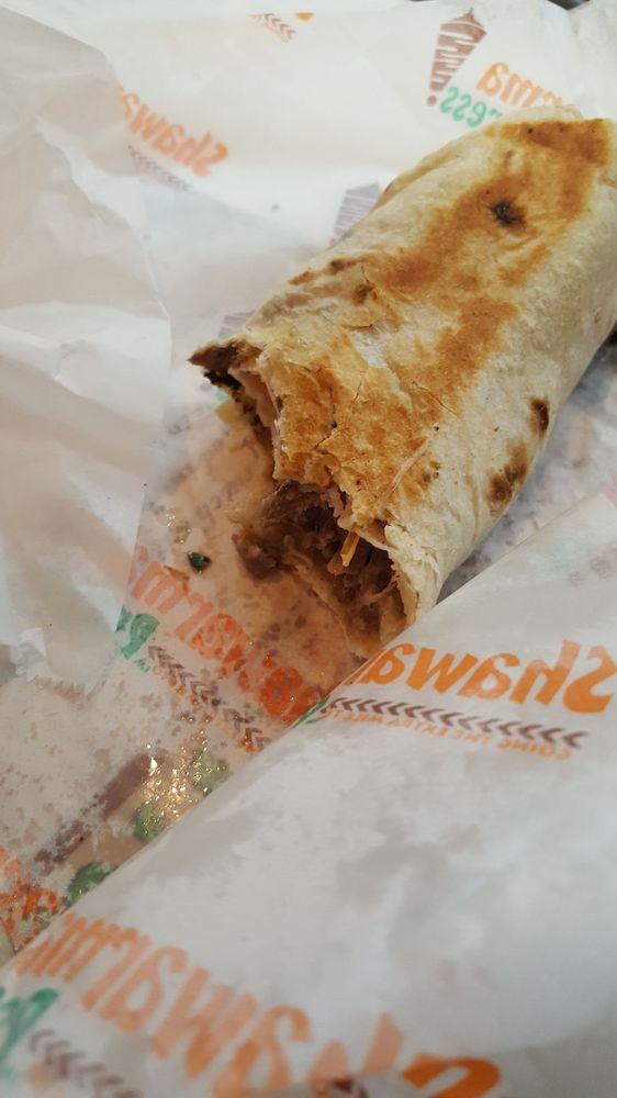 Food from Shawarma Press