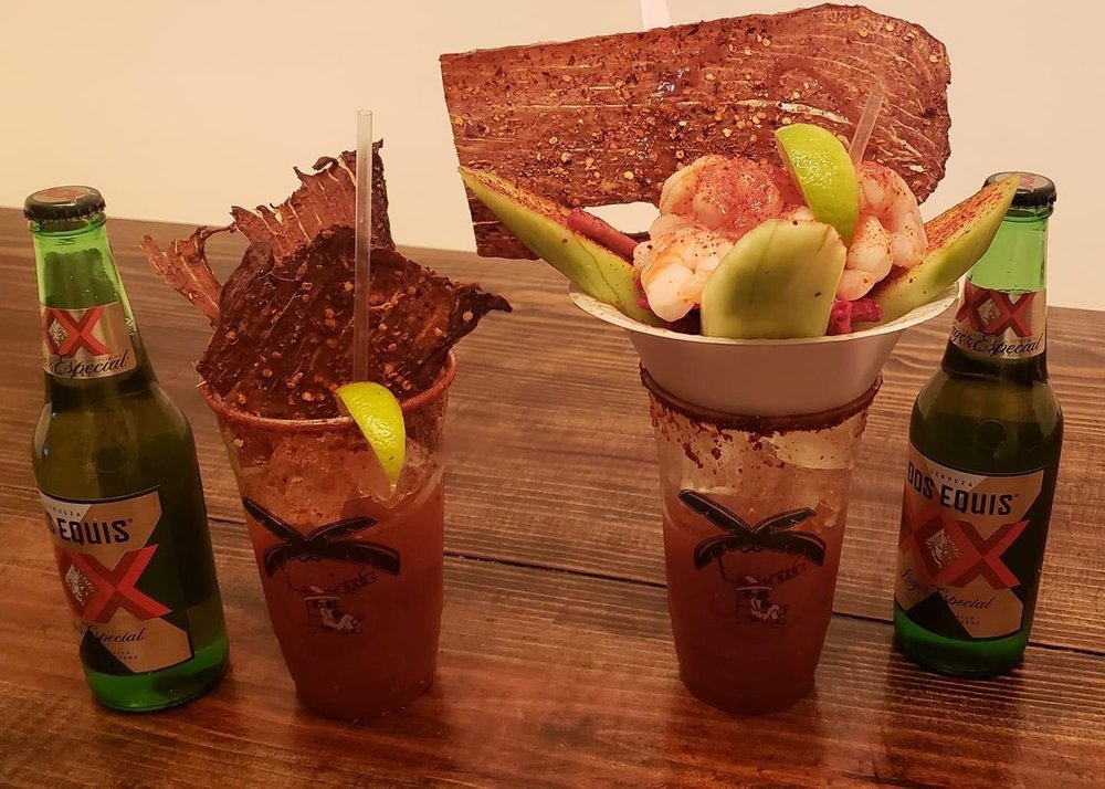 Vintage Crown - Micheladas & Tacos: 628 Farm To Market 517 Rd W, Dickinson, TX