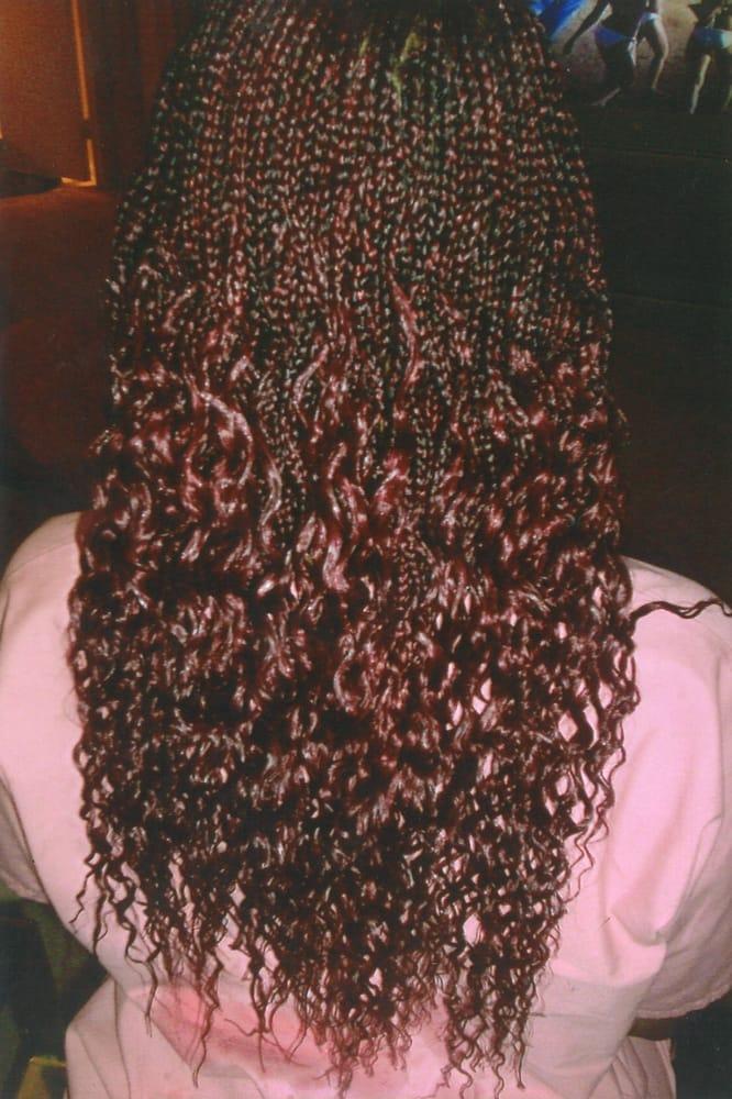 Beautiful Curly Individual Braids Yelp