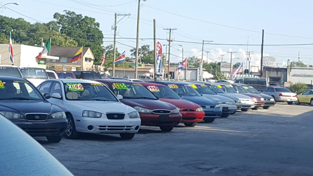 Nice looking crappy running cars yelp for Select motors of tampa