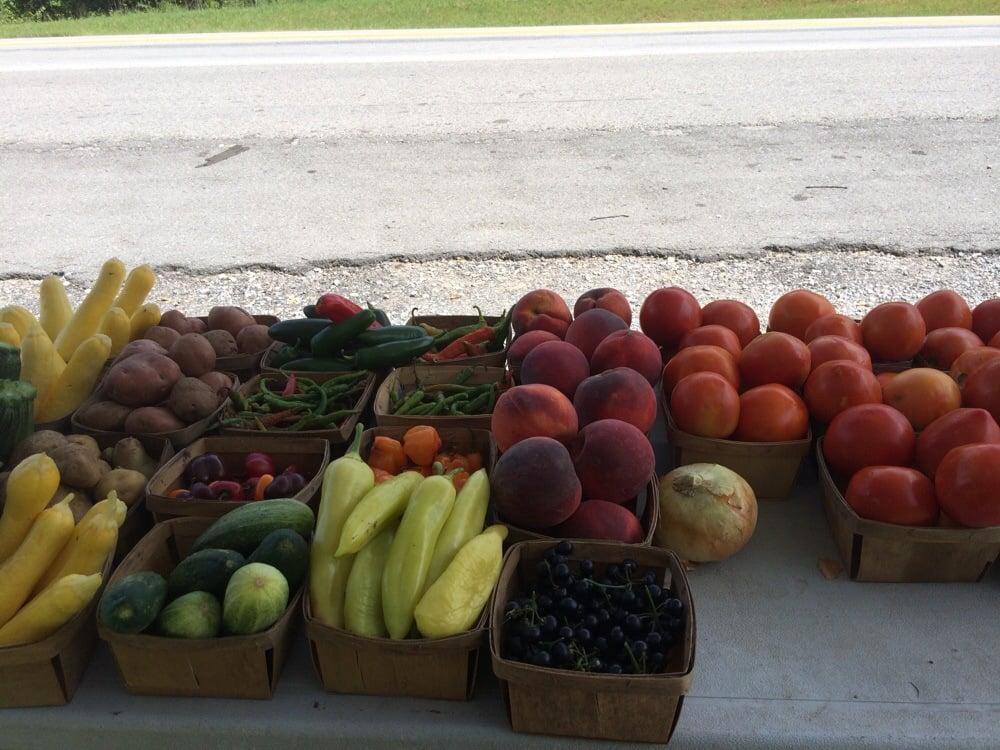 The  Veggie Stand: Hwy 25/31-W, Cross Plains, TN