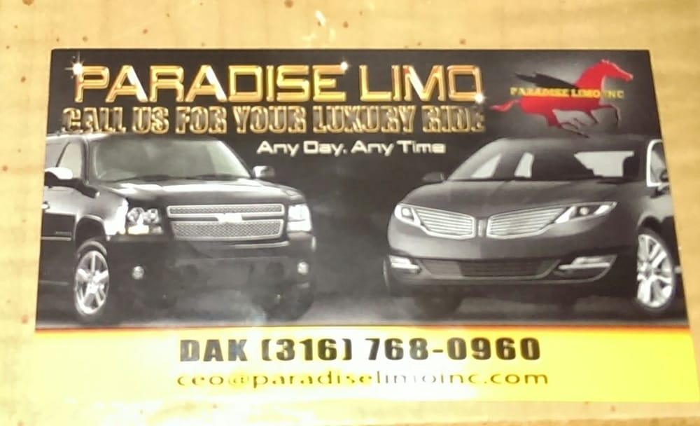 Paradise Limo: Fort Worth, TX