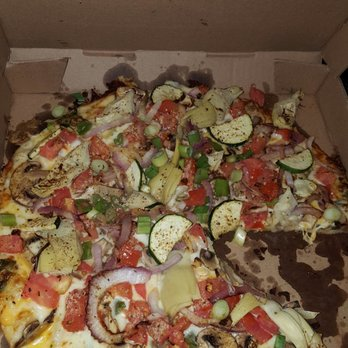 Photo Of Round Table Pizza   Concord, CA, United States. Gourmet Veggie Was
