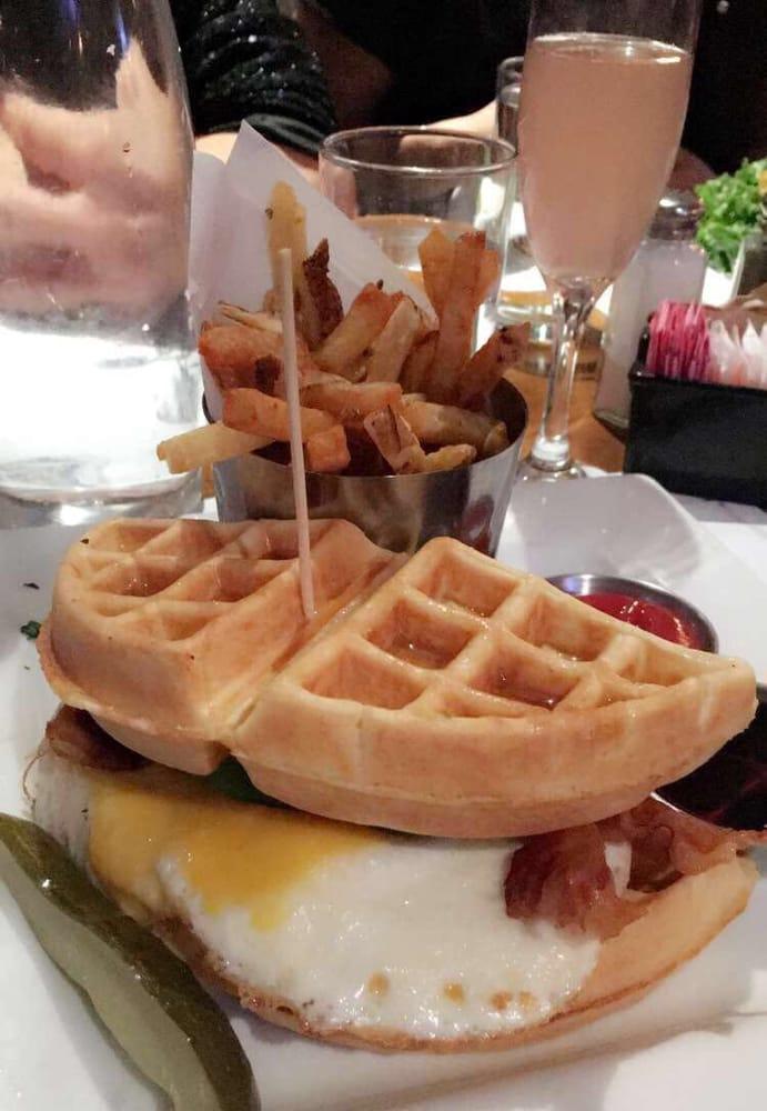 waffle breakfast sandwich yelp. Black Bedroom Furniture Sets. Home Design Ideas