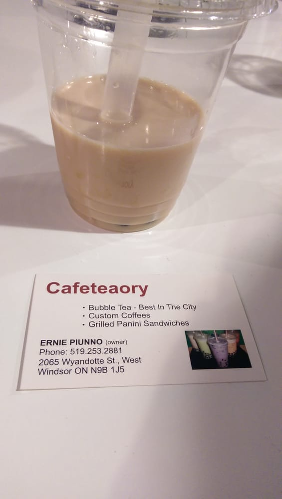 Cafe Teaory: 2065 Wyandotte Street W, Windsor, ON