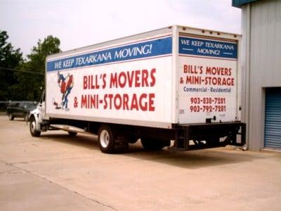 Bill's Movers & Mini Storage: 1407 Texas Blvd, Texarkana, TX