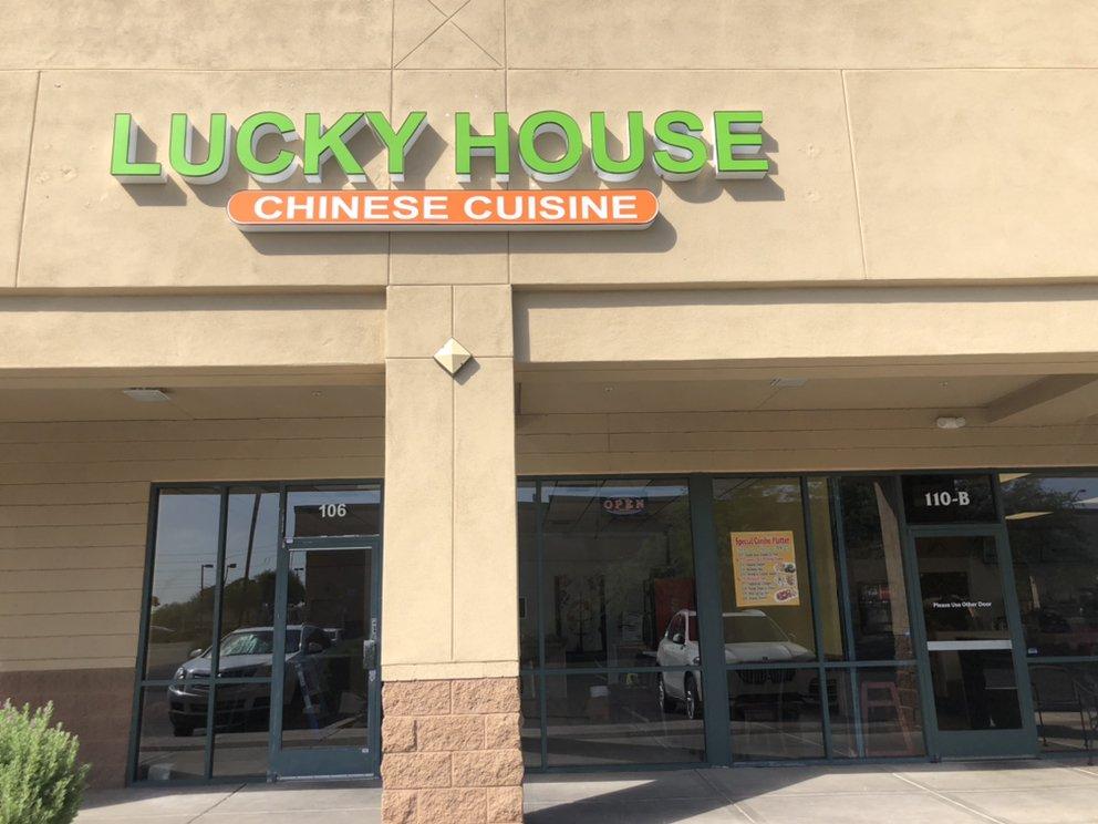 Lucky House Chinese Cuisine: 14291 W Grand Ave, Sun City, AZ