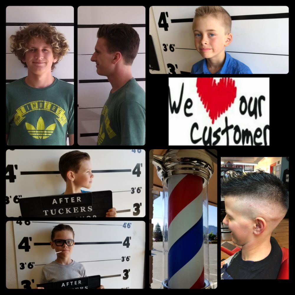 Tuckers Barbershop: 1330 NW 6th St, Grants Pass, OR