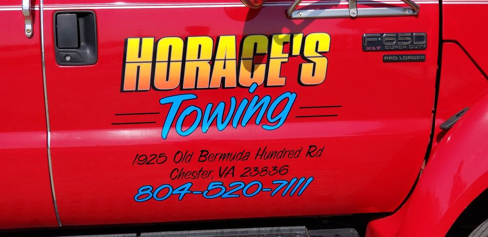 Horace's Towing: 1925 Old Bermuda Hundred Rd, Chester, VA