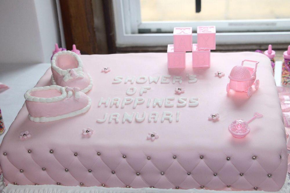 Side View Of Vegan Baby Shower Cake Yelp
