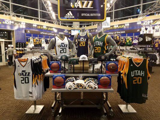 new style 6f654 d64aa Utah Jazz Team Store - Sports Wear - 301 W S Temple ...